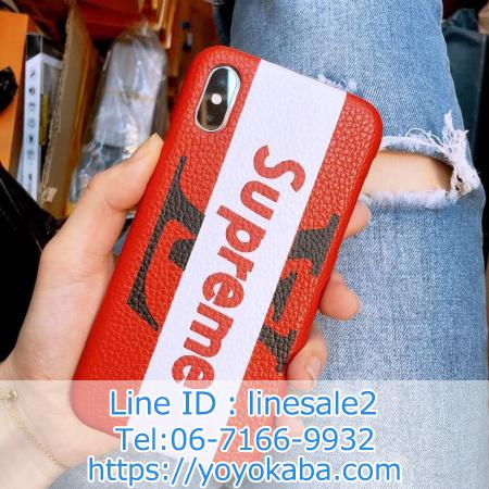 LOUIS VUITTON x supreme iphonexケース ランド iphone8 8plusケース